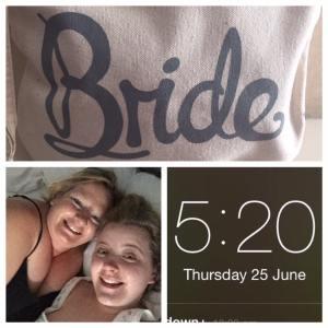 brides awake